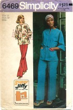 Simplicity 6479 Jiffy Pullover Top & Pants Size Size 14 - Bust 36