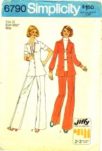 Simplicity 6790 Jiffy Shirt and Pants Size 10 - Bust 32 1/2