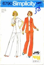 Simplicity 6790 Jiffy Shirt and Pants Size 18 - Bust 40