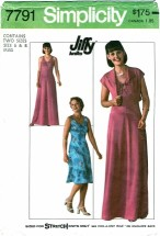 Simplicity 7791 Misses JIFFY Knit Pullover Dress & Jacket Size 6