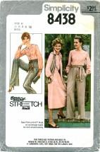 Simplicity 8438 Blouse Skirt Pant Vest Sash Size 6 - 10