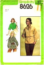 Simplicity 8626 Pullover Tunic or Top Size 12 - Bust 34