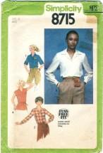 Simplicity 8715 Misses Blouse & Tie Belt Size 18