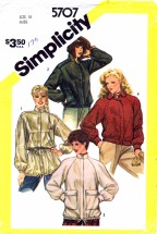 Simplicity 5707 Sewing Pattern Unlined Jackets Size 16 Bust 38