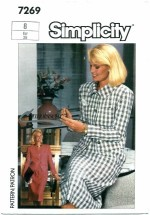 Simplicity 7269 CONNOISSEUR Skirt & Jacket Size 8