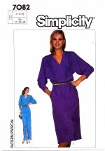 Simplicity 7082 Sewing Pattern Dress in Two Lengths Size 6 - 10
