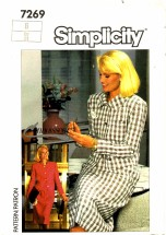 Simplicity 7269 Connoisseur Skirt & Jacket Size 6