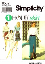 Simplicity 8562 Sewing Pattern Misses Skirts Flounce Mini Size 6 - 16