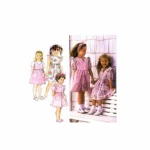 Girls Dress Pinafore Jumper Simplicity 8889 Sewing Pattern Size 5 - 6 - 6X