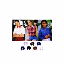 Misses Shirt with Detachable Collar and Transfer Simplicity 9100 Vintage Sewing Pattern Size 6 - 8 - 10 - 12 - 14 - 16