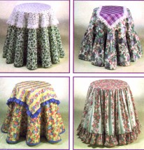 Simplicity 9251 Design Your Own Table Covers Sewing Pattern