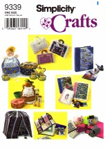 Simplicity 9339 Crafts Sewing Pattern Bird Cage Sewing Machine Computer Mouse Casserole Covers