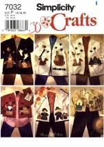 Simplicity 7032 Misses Appliqued Jacket Size 12 - 16
