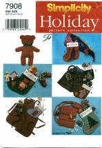 Simplicity 7908 Christmas Stockings & Stuffers