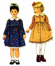 Girls Dress Pinafore Simplicity 7919 Sewing Pattern Size 3 - 4 - 5 - 6