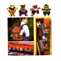 Beanbag Animal Accessories Simplicity 7929 Sewing Pattern