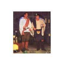 Celtic Scottish Kilt Shirt Pants Mens Costume Simplicity 8913 Sewing Pattern XS - S - M