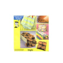 Fleece Pillow and Throws Simplicity 5854 Sewing Pattern for Dummies