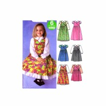Girls Jumper Blouse Petticoat Simplicity 5319 Sewing Pattern Size 3 - 4 - 5 - 6
