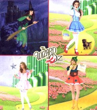 Simplicity 2546 Wizard of Oz Dorothy Glinda Witch Costumes Sewing Pattern Size 8 - 10 - 12 - 14 - 16