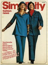 Simplicity Fashion News March 1976 Pamphlet