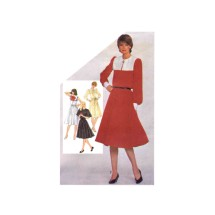 Simplicity 5291 Misses Pullover Dress Vintage Sewing Pattern Size 12 Bust 34