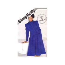 Misses Lined Jacket and Flared Skirt Simplicity 5759 Vintage Sewing Pattern Size 12 - 14 - 16