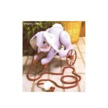 Decorative Rabbit Pull Toy Marjorie Puckett Simplicity 0378 Vintage Sewing Pattern