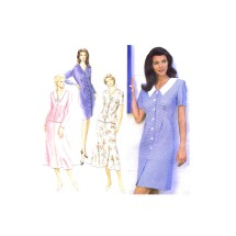 Misses One or Two-Piece Dress Simplicity 9609 Vintage Sewing Pattern Size 12 - 14 - 16