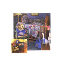 Simplicity 7766 Baby Nursery Accessories Quilt Diaper Bag Bunting Sewing Pattern