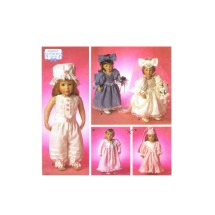 18 Inch Doll Clothes Shirley Botsford Simplicity 8209 Vintage Sewing Pattern
