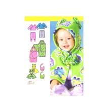 Babies Top Pants Capelet Bib Blanket Wrap Simplicity 4434 Sewing Pattern Size XXS-XS-S-M-L
