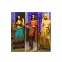 Belly Dancer Costumes Simplicity 4249 Sewing Pattern Size 14 - 16 - 18 - 20