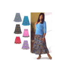 Misses Skirts Khaliah Ali Simplicity 4283 Sewing Pattern Size 10 - 12 - 14 - 16 - 18