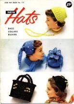 Star Crochet Hat Book No. 117