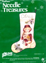 Stitchery Needle Treasures Jan Hagara Chris and Puppy Crewel Embroidery Kit