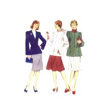 1970s Misses Jacket Style 4827 Vintage Sewing Pattern Size 10 Bust 32 1/2