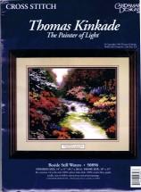 Thomas Kinkade Beside Still Waters Cross Stitch Kit