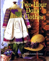 Two-Hour Dolls' Clothes Book by Anita Louise Crane