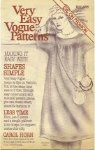 Very Easy Very Vogue May 1976 Pamphlet