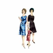 1960s Misses Blouse Skirt Dress Vogue Special Design 5482 Vintage Sewing Pattern Size 10 Bust 31