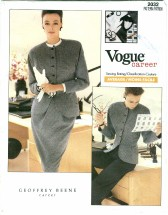 Vogue 2032 Jacket Skirt Pants Size 6 - 10 - Bust 30 1/2 - 32 1/2