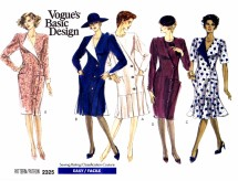 Vogue 2325 Sewing Pattern Misses Flared Pleated Dress Size 6 - 8 - 10