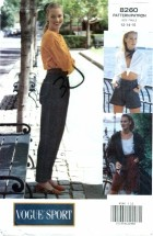 Vogue 8260 Shorts & Pants Size 12 - 16 - Waist 26 1/2 - 30