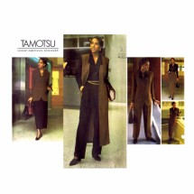 1990s Tamotsu Jacket Top Jumper Skirt Pants Vogue 1200 Vintage Sewing Pattern Size 6 - 8 - 10