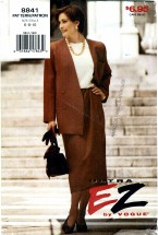 Vogue 8841 Jacket Skirt Suit Size 6 - 10 - Bust 30 1/2 - 31 1/2