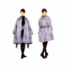Issey Miyake Oversized Coat and Belt Vogue 1386 Sewing Pattern Size 8 - 10 - 12 - 14 - 16 - 18