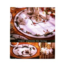 Table Topper Mantel Pillow Cover Placemats Napkins Vogue 9665 Sewing Pattern