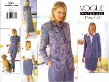 Vogue 2090 Tamotsu Jacket Dress Top Skirt Pants Size 8 - 12