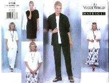 Vogue 2139 Jacket Dress Top Skirt Pants Size 8 - 12 - Bust 31 1/2 - 34